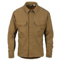 Helikon Woodsman Shirt - Coyote/Taiga Green
